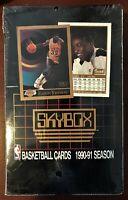 1990 / 1991 SKYBOX BASKETBALL SERIES 1 SEALED BOX (36 PACKS) JORDAN / MAGIC?!!!