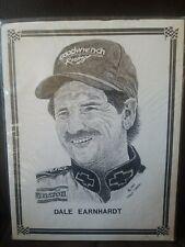 Dale Earnhardt Sketch By Frank Nareau