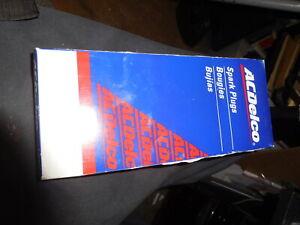 AC Delco R45S spark plugs. Set of 8 NOS  USA