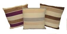 "Striped Decorative Throw Pillow Cushion Sofa / Bed - 16""X16Inch"