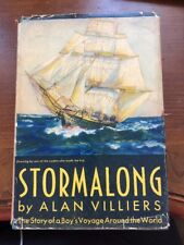 Stormalong The Story of a Boy's Voyage Around the World by Alan Villiers
