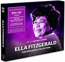 Ella Fitzgerald Essential Collection 2CD & DVD 1969 Montreux Jazz Festival