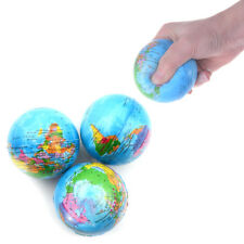7.6CM Stress Relief World Map Foam Ball TOY Palm Ball Planet Earth Ball TOY  I