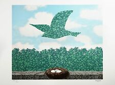 René Magritte - Spring (signed & numbered lithograph)