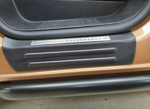 VW T5 T6 Door sill protector plates (pair) entry plates, with VW detailing