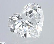 Heart Shape Cut Natural Loose Actual Diamond 100% Real 1.00 Carat G SI2 IGI Cert