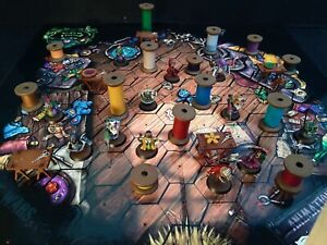 Puppet Wars Unstitched Wyrd Miniatures board game well painted with extras