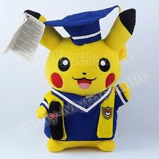 Pokemon Cosplay Pikachu Cos Post-Graduate Cloth 28cm Soft Plush Stuffed Doll Toy