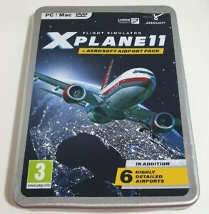 X-plane 11 & Aerosoft Airport Collection PC Game