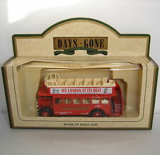 Lledo: Days Gone: 1932 AEC Regent Open Top Bus: LONDON SIGHTSEEING BUS: DG68002a