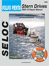 VOLVO PENTA SERVICE REPAIR MANUAL 2003 to 2012 STERNDRIVE SELOC 3608