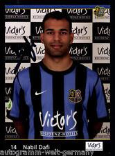 Nabil Dafi 1.FC Saarbrücken 2010-11 TOP AK + A7874 + A 67427