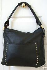 NWT Rolfs Sharp Looking Black Leather Handbag Purse $96