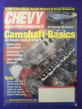 CHEVY HI PERFORMANCE - PRO TORUING '69 - July 2003