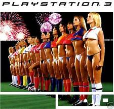 PlayStation 3 PS3 SEXY FOOTBALL GIRLS Vinyl Sticker Skin