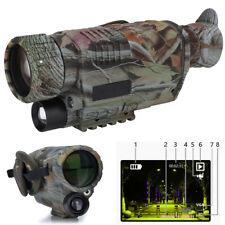 Camo Hunting IR Infrared Dark Night Vision IR Monocular Binoculars Telescopes