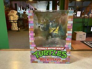 """2020 PC Collectibles Teenage Mutant Ninja Turtles ROCKSTEADY 10"""" 1/8 Figure NIB"""