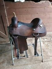"16"" Cleburne Saddle Shop Western Saddle"