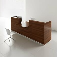 """Tera 121"""" Reception Desk with Counter Top"""