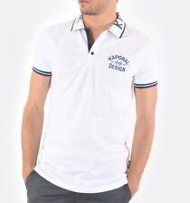 Polo Homme Blanc Modèle Vix de la marque Kaporal L