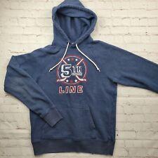 Homage COLUMBUS BLUE JACKETS 5th Line Hooded Sweatshirt Unisex Medium Hoodie