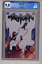 DC's Batman #100 Jamal Campbell Negative Variant Cover CGC 9.8