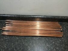 "14 Pieces of Copper Lightning Rod, 23"" each, 4 Spikes, 1 Ball"