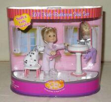 Li'l Kids Doll & Bathroom Sink & Dog Only Hearts Club NEW
