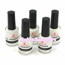 5 Pcs A Set 8ml Nail Art Glue Adhesive for Star Foil Transfer Sticker Tips