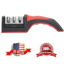 Knife Sharpener Professional Tungsten Ceramic Kitchen Sharpening System Tool