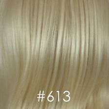 Long Straight Blond/Brown Layered Monofilament Wig