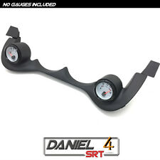 00 05 Dodge Neon Srt4 - Dual Gauge Pod 52mm (OEM) Cluster Trim Bezel