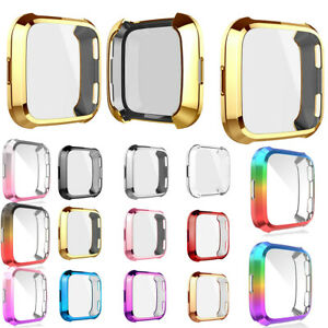 Lightweight TPU Full Case Cover Screen Protector Accessories For Fitbit Versa