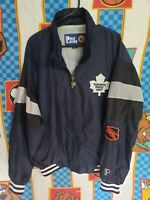 Vintage Toronto Maple Leafs Pro Player  NHL Jacket Size L