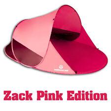 Top ***** Pop Up Strandmuschel Zack II  Sonnenschutz Windschutz Pink B-Ware