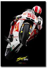 """Marco Simoncelli MotoGP Racer Fridge Magnet Size 2.5"""" x 3.5"""""""