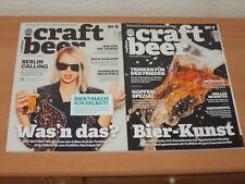 2 X Craft beer Nr. 6 & 7 MAGAZIN FÃœR BIERBRAUKUNST Ausgaben aus 2017 Neuwertig