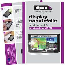 3x Garmin Nüvi 2797 Film de protection d'écran protecteur cristal clair