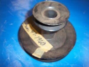 NEW TORO REAR ENGINE RIDER ENGINE PULLEY 47-1960 OEM NLA T7