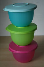 Tupperware Impressions Mini Bowl  2 1/4 Cup-550ml  set 3   New