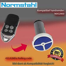 Handsender Garagentorantriebe 433,92 MHz NORMSTAHL N002800 Funksender