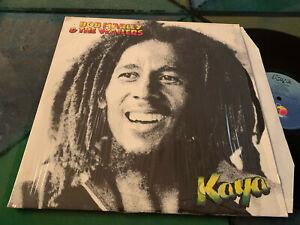 LP  ITALY 1978  Bob Marley & The Wailers – Kaya Label: Island Records