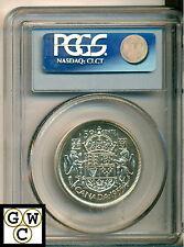 1955 Canada 50 Cent PCGS PL66