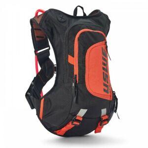 USWE RAW 8 Hydration Pack Orange MTB Backpack Enduro