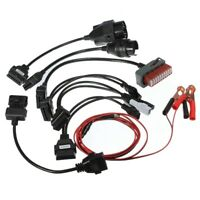 OBD2 OBD car diagnostic adaptor Interface Cables kit 8pcs  X9J3 J2J6 J7A5