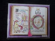 Lily Princess Unicorn Mount Gift With Verse And Photo Space - Choose A Frame