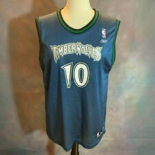 bbb6cbf53 MINNESOTA TIMBERWOLVES Basketball Jersey Reebok NBA SZCZERBIAK 10 XL 18 20