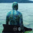 Camo Deep Blue 2.5MM  2-Piece Long Sleeve Wetsuit