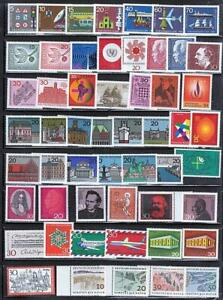 GERMANY WEST collection x54 MNH postfriesch STAMPS