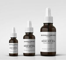 DermaVitamins 100% Organic Cold-Pressed Rose Hip Oil